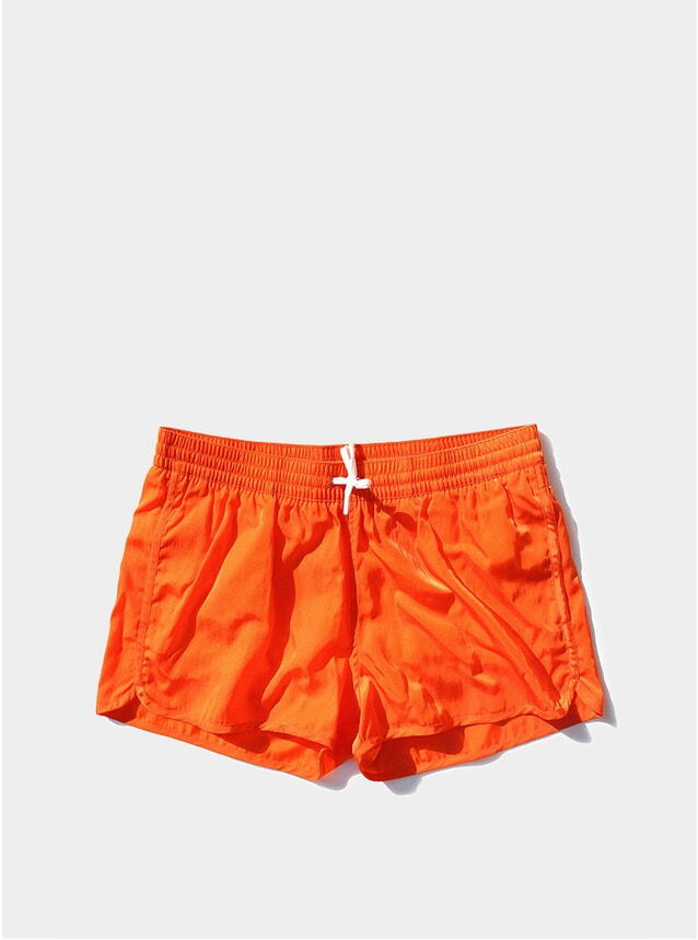 Tremezzo Orange Piscina Swim Shorts