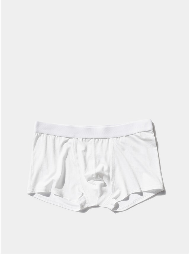 White Boxer Trunk