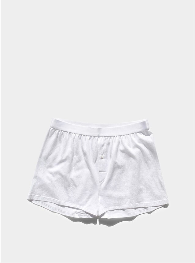 White Sea Island Cotton Boxer Shorts