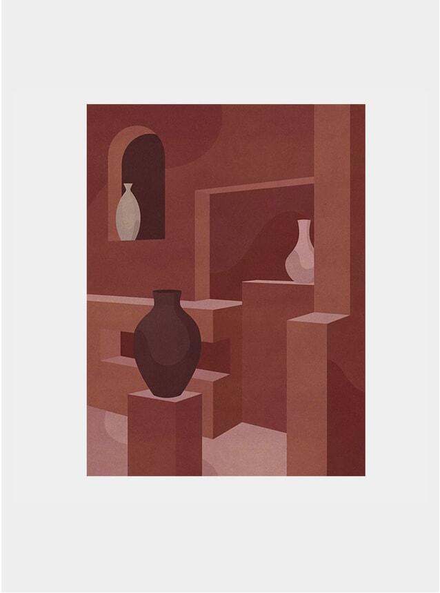 Villa Noailles Vases Print