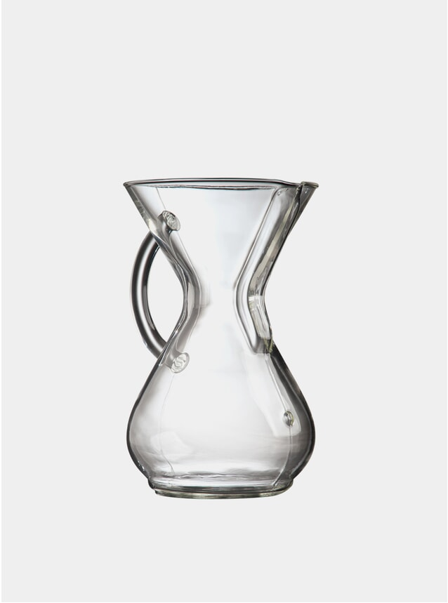 Glass Handle Series 6 Cup Coffee Maker