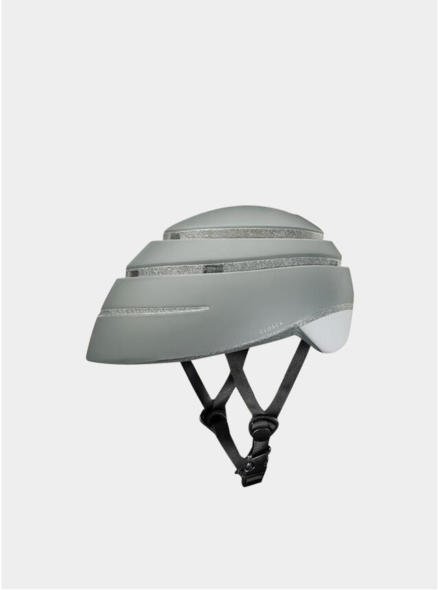 Fossil / White Loop Helmet