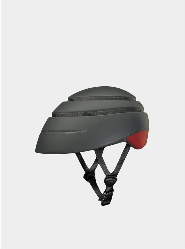 Graphite / Red Wine Loop Helmet