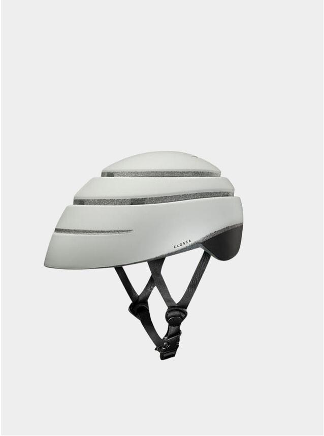 Pearl / Black Loop Helmet