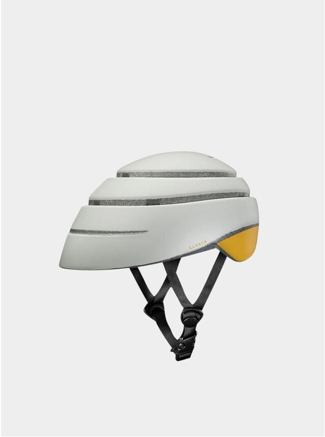 Pearl / Mustard Loop Helmet