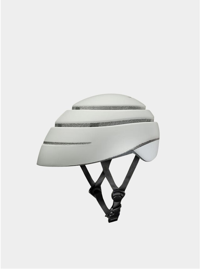 Pearl / White Loop Helmet