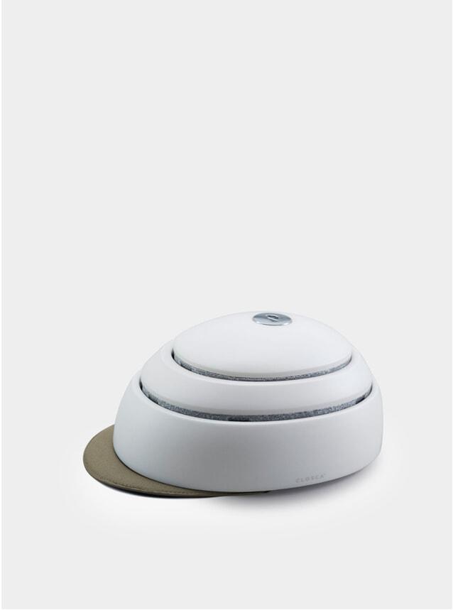 White / Kale Helmet