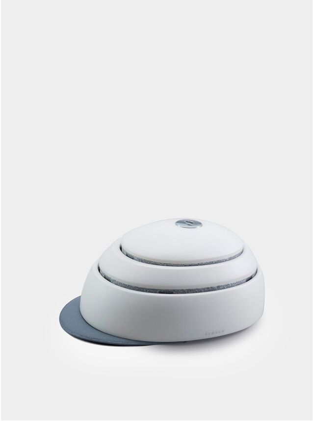White / Niagra Helmet
