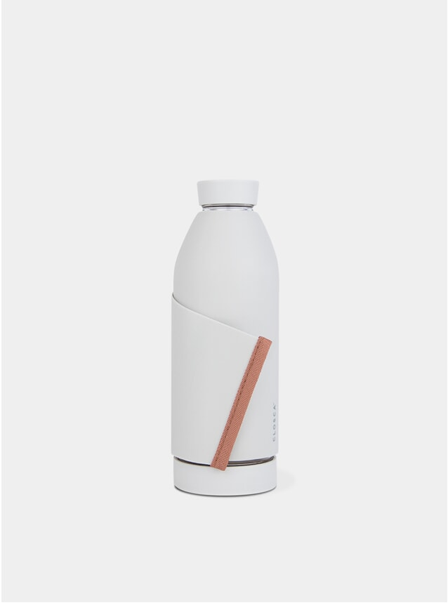 White / Tangerine Bottle