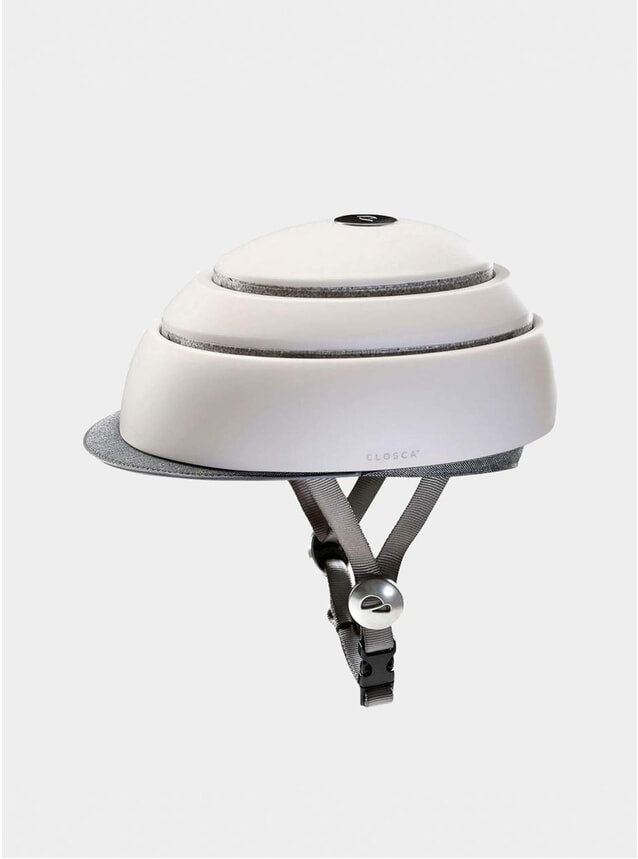White Closca Helmet