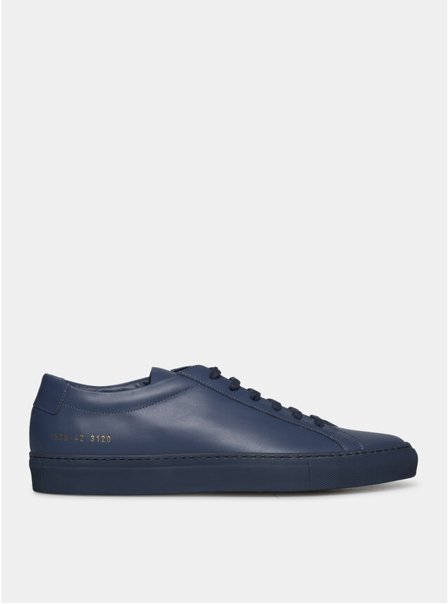 Navy Original Achilles Low Sneakers