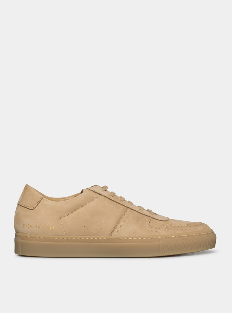 new styles good nice cheap Tan Suede BBall Low Sneakers