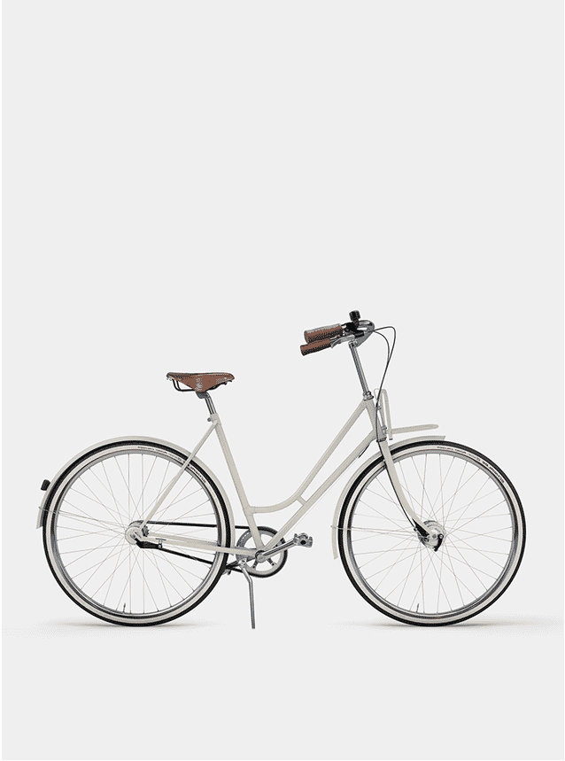 Creamy Beige Lady Cruiser Bicycle
