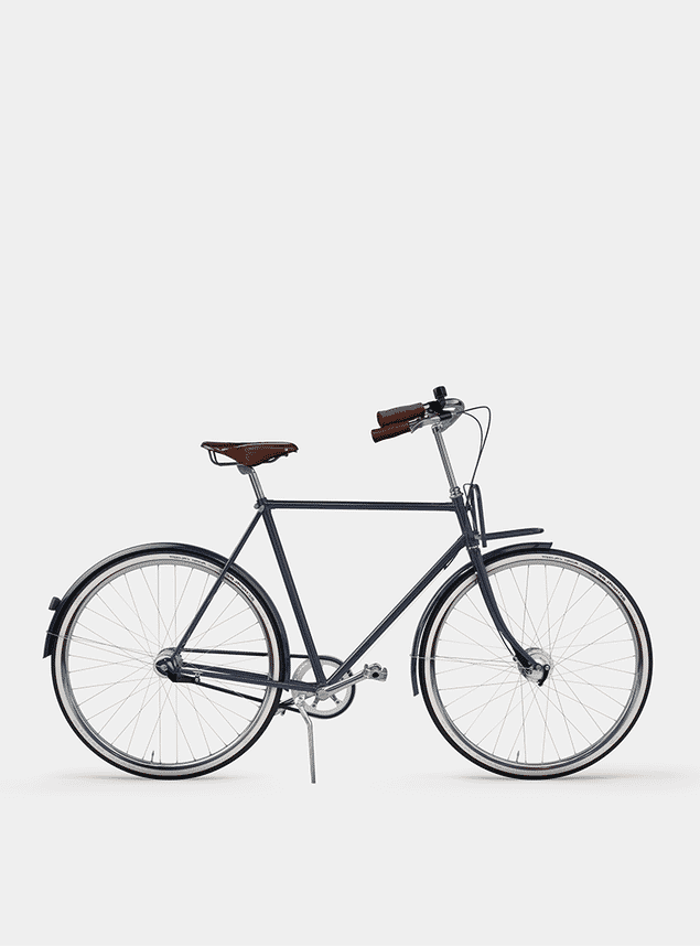 Deep Blue City Cruiser Bicycle