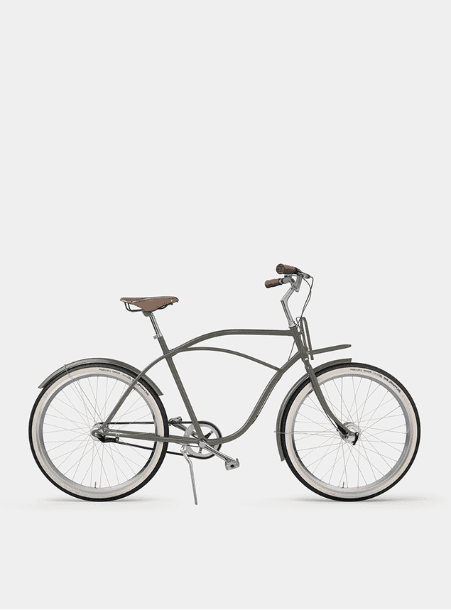 Dusty Green Beach Cruiser Bicycle