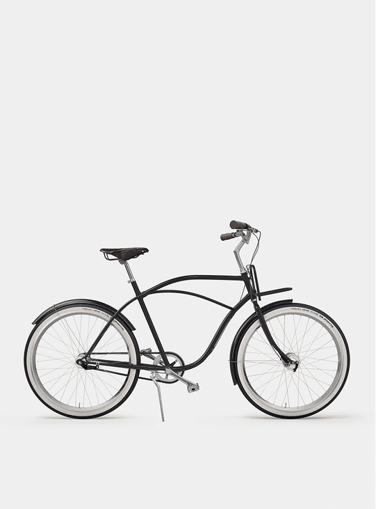 Graphite Grey  Beach Cruiser Bicycle