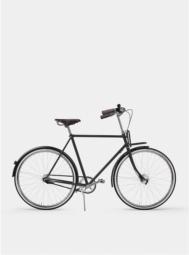 Graphite Grey City Cruiser Bicycle