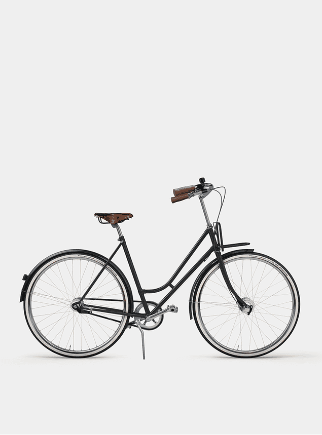 Graphite Grey Lady Cruiser Bicycle