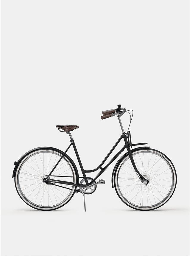 Graphite Grey Lady Cruiser Bicycle