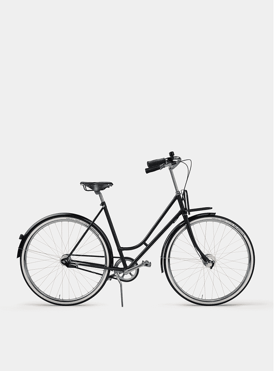 Pure Black Lady Cruiser Bicycle