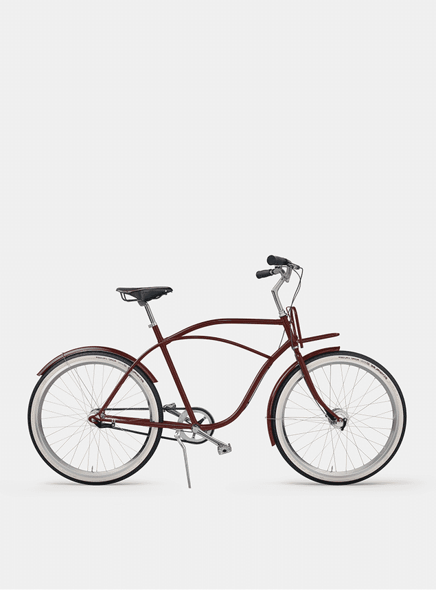 Rusty Red Beach Cruiser Bicycle