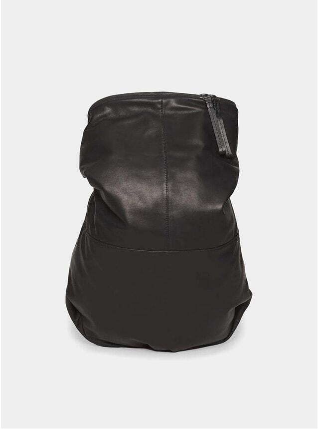Black Alias Leather Rucksack