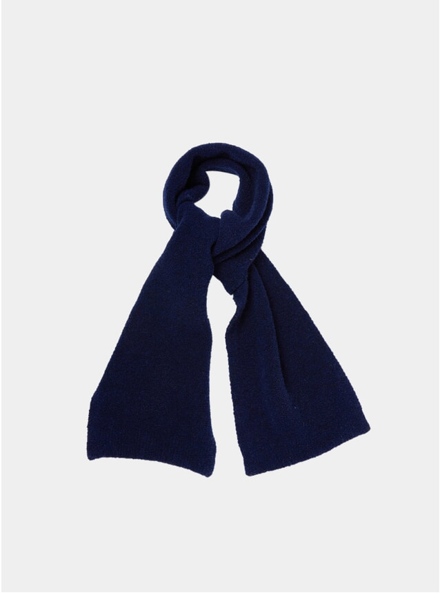 Blue / Grey Fleece Scarf