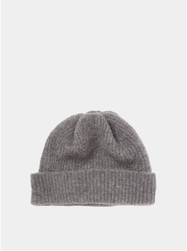 Grey Fleece Watch Cap