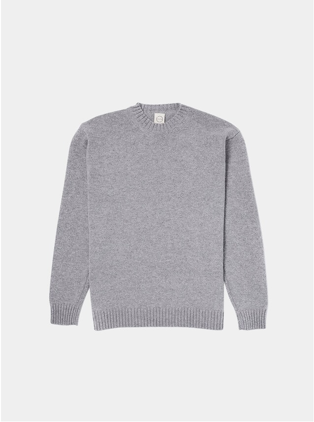 Light Grey Knitted Crew