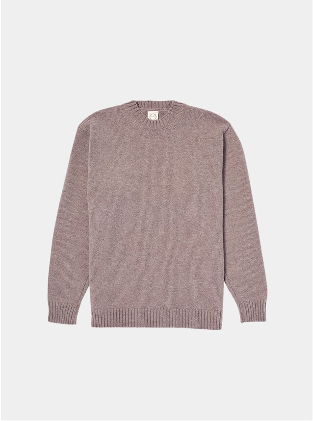 Oatmeal Knitted Crewneck