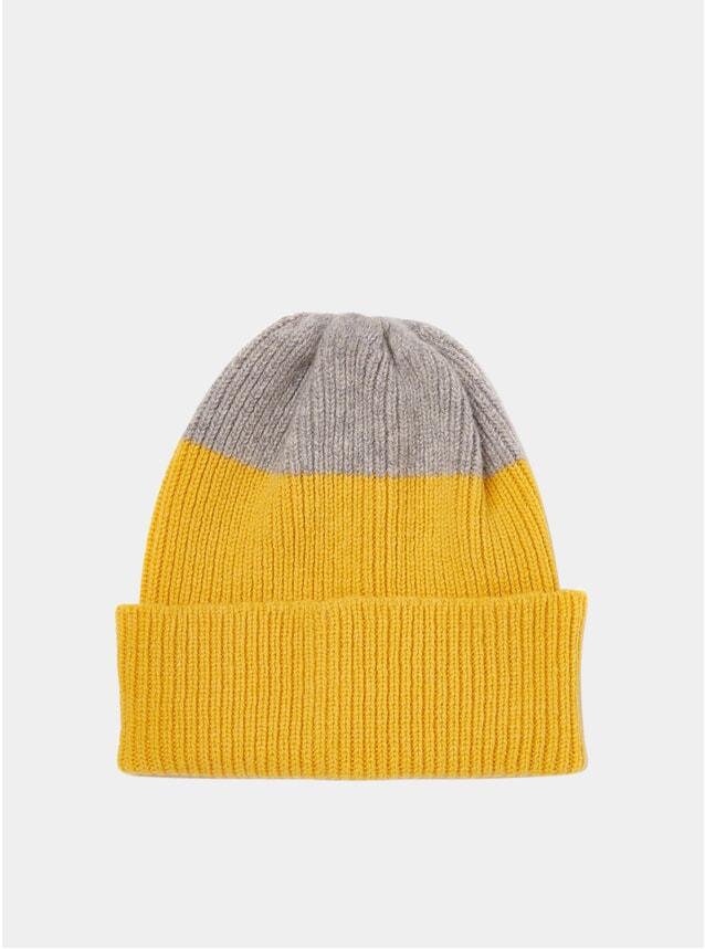 Yellow / Grey Watch Cap