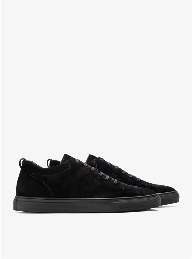 All Black Tarmac Sneakers