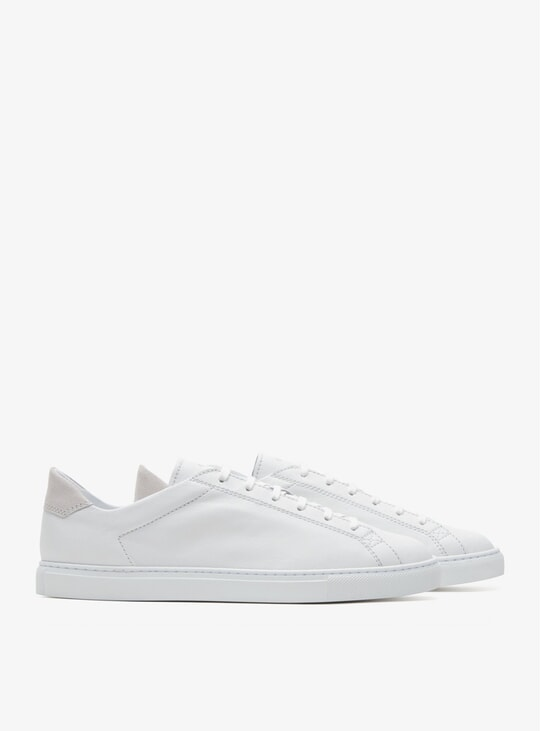White Racquet Sneakers
