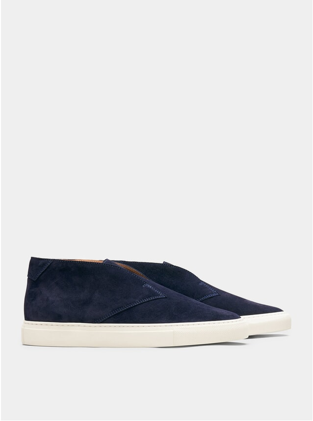 Blue Portico Slip-Ons
