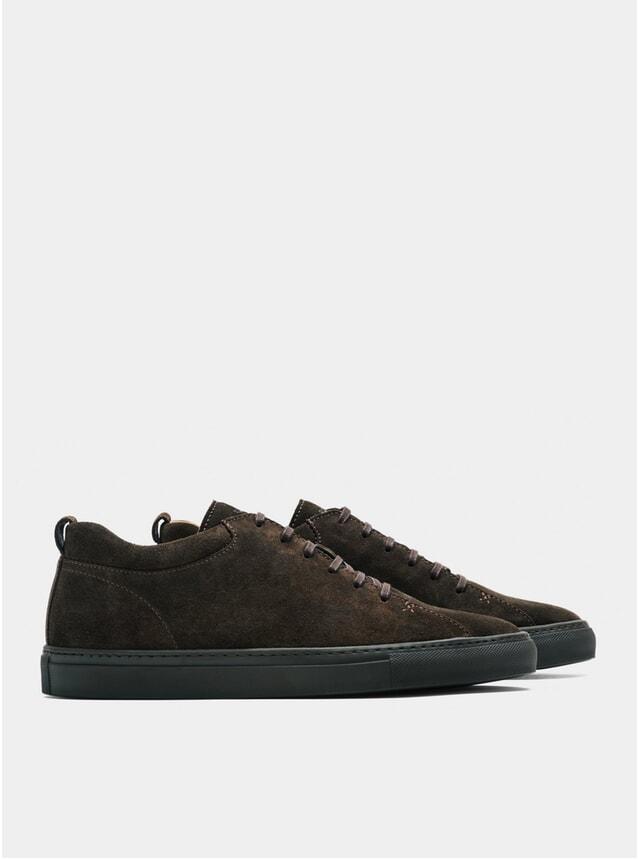 Ebony Brown Racquet SR Sneakers