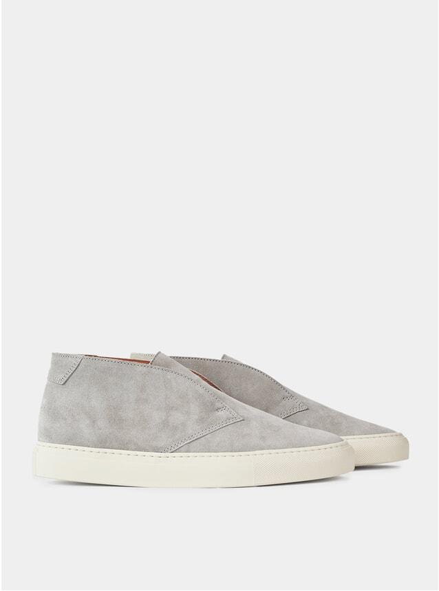Grey Portico Slip-Ons