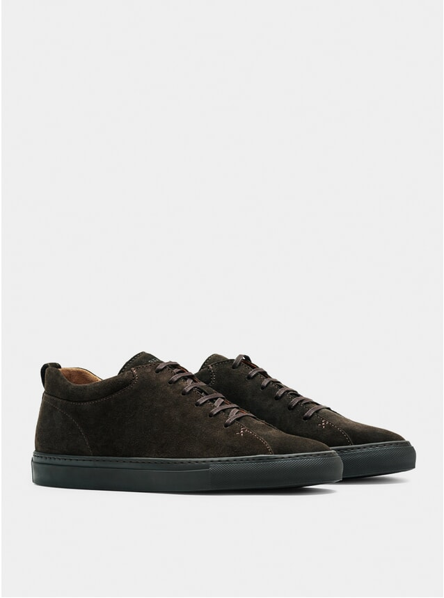 Ebony Brown Tarmac Sneakers