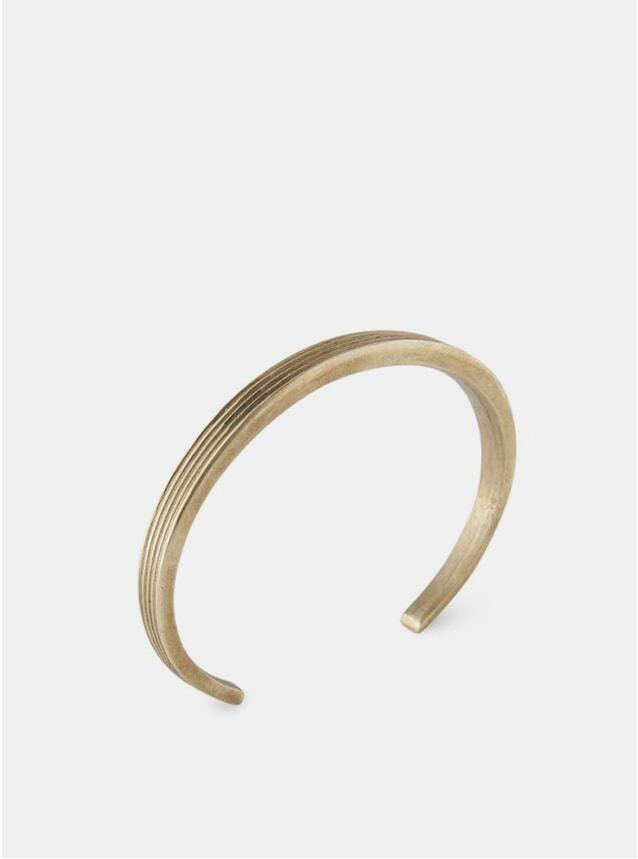 Brass Latitude Cuff