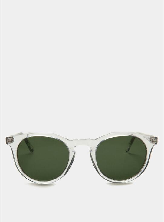 Crystal / Green Kallio Sunglasses