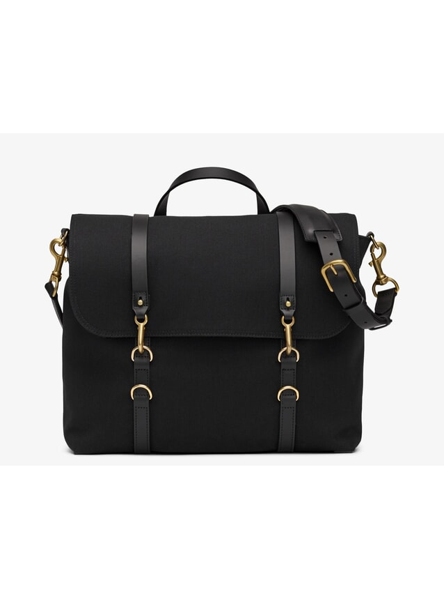 M/S Satchel - Coal/Black