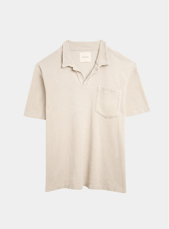 Oyster Terry Polo Shirt