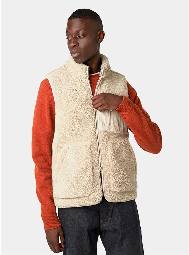 Sand Pile Fleece Vest