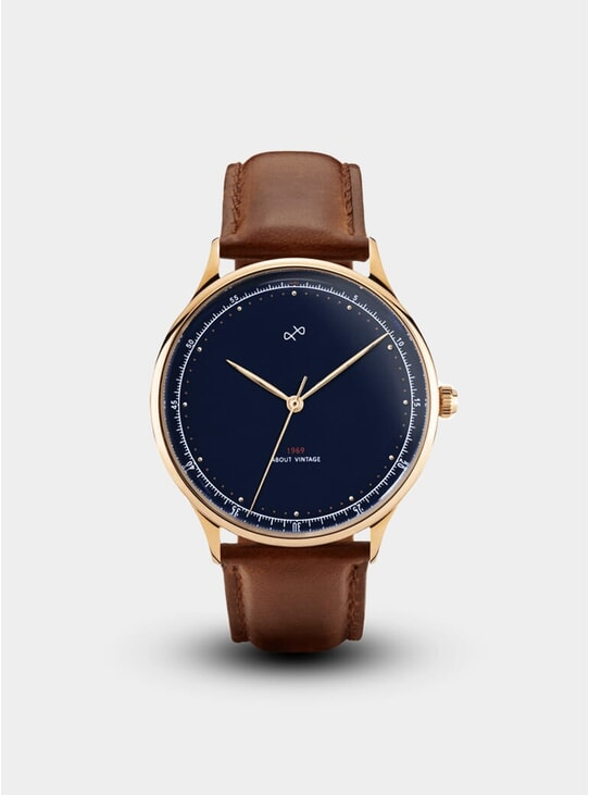 Gold / Midnight Blue 1969 Special Edition Watch