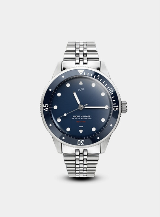 Steel / Blue 1926 At'sea Watch
