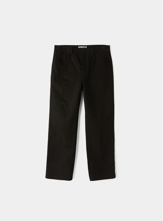 Black Workwear Trousers