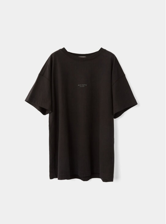 Black Oversized T Shirt