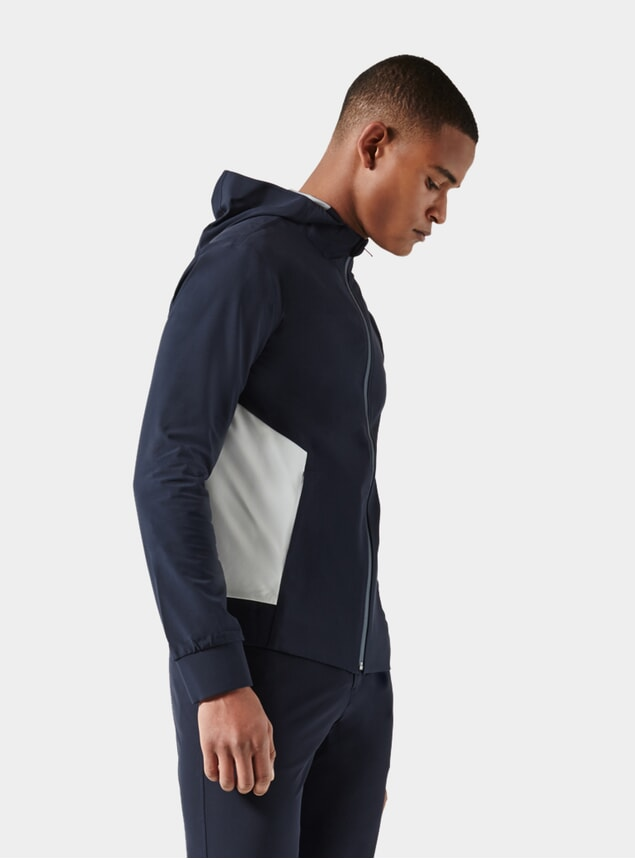 Dark Blue / Light Grey Adaptive Jacket