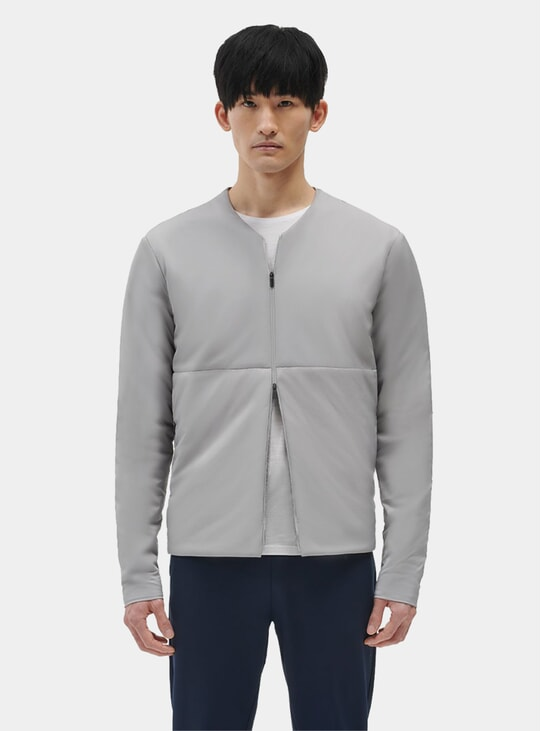Mid Grey Light Padded Jacket