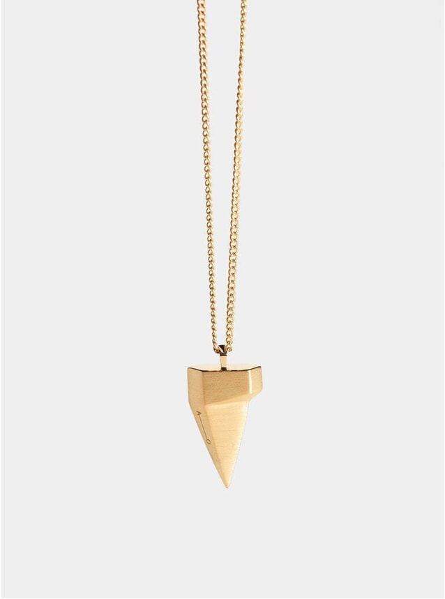 Gold Komodo Claw Pendant