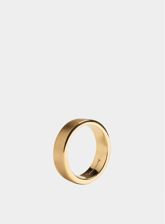 Gold 7mm Ring